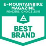 E-Mountainbike Magazine Readers' Choice Award 2015 - Best Brand