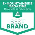 E-Mountainbike Magazine Readers Choice Award 2016 - Best Brand