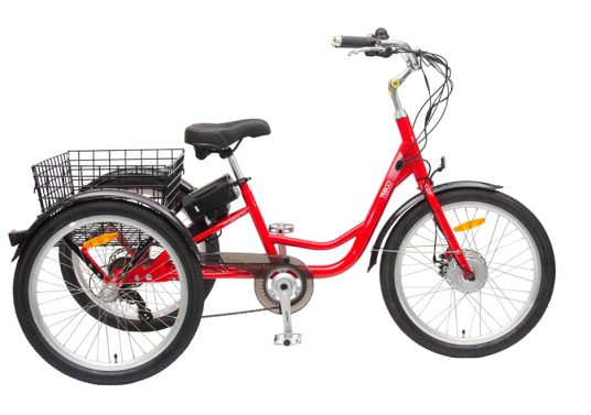TEBCO Electric Trike – Carrier